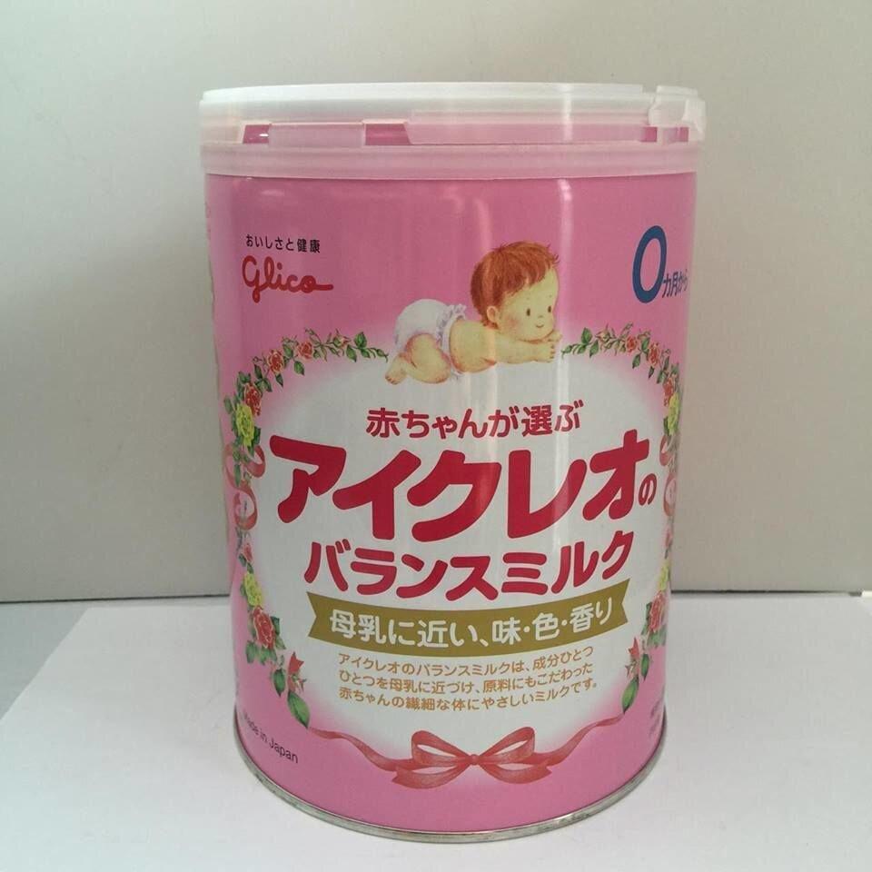 Sữa Glico số 0 chất lượng hàng đầu Nhật Bản
