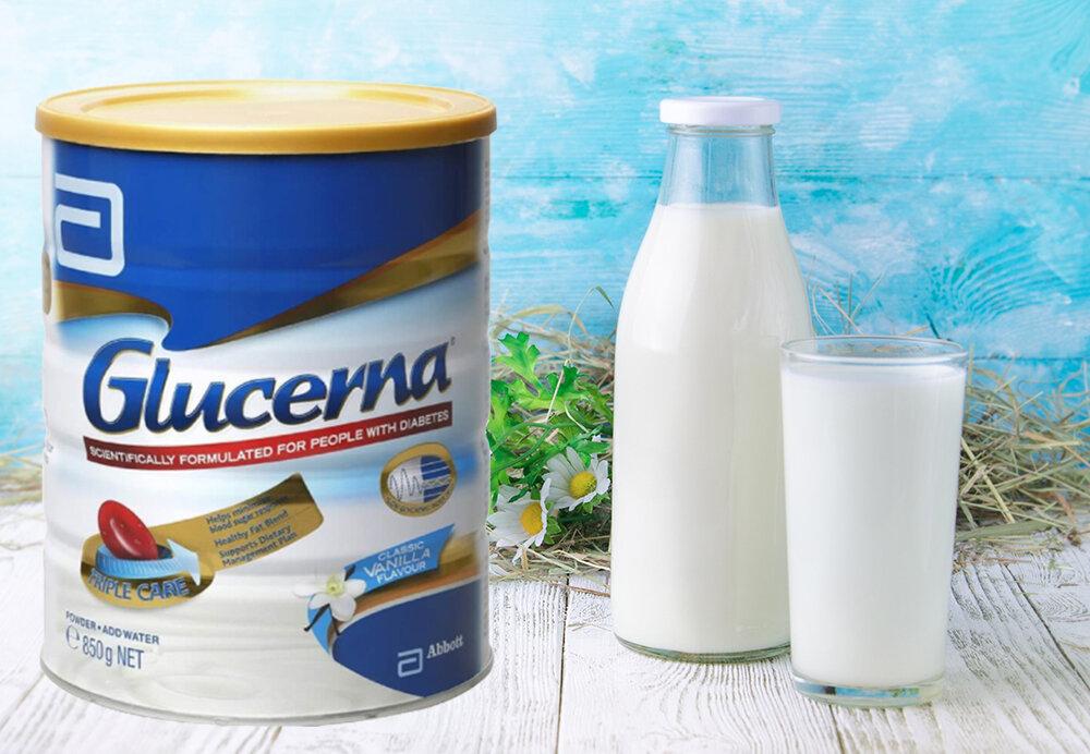 Sữa bột Glucerna 850g cho người tiểu đường