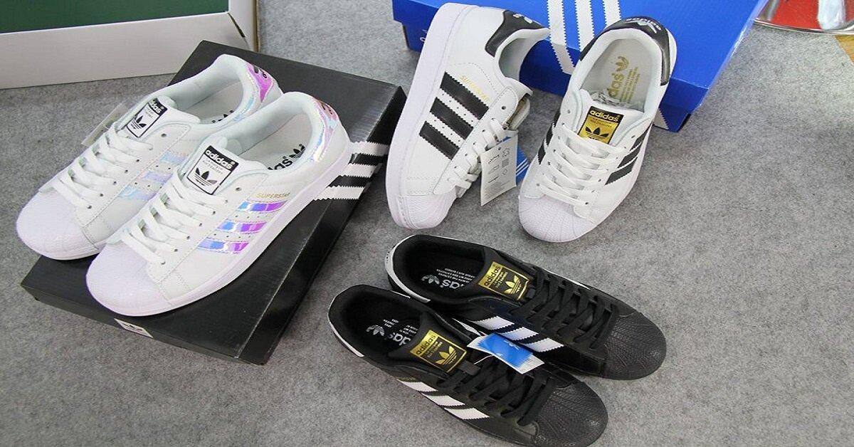 giày thể thao nữ adidas chính hãng super star