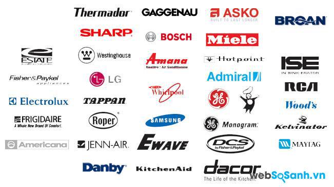 Có rất nhiều thương hiệu tủ lạnh trên thị trường, bạn nên chọn thương hiệu nổi tiếng