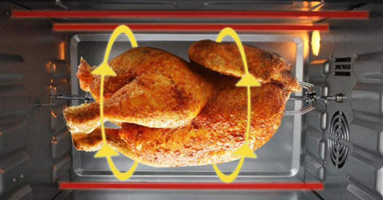 So sánh lò nướng thùng và lò nướng thủy tinh : Lò nào nướng gà vịt nguyên con vừa ngon vừa tiện dụng ?