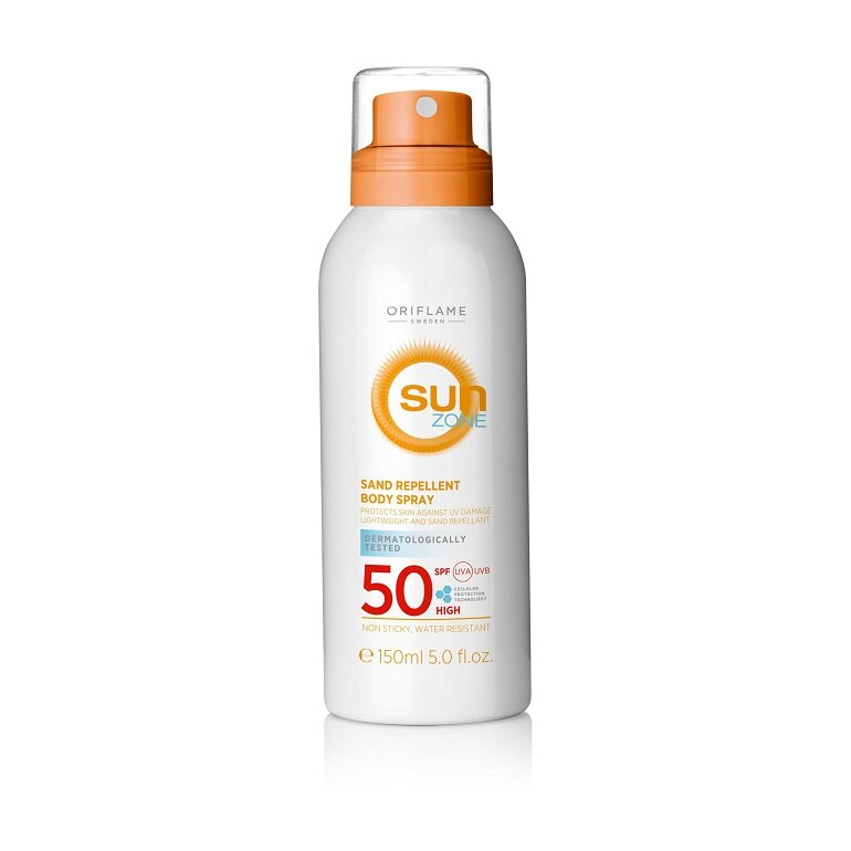 Chống nắng dạng xịt Sun zone sand repellent Body Spray SPF 50