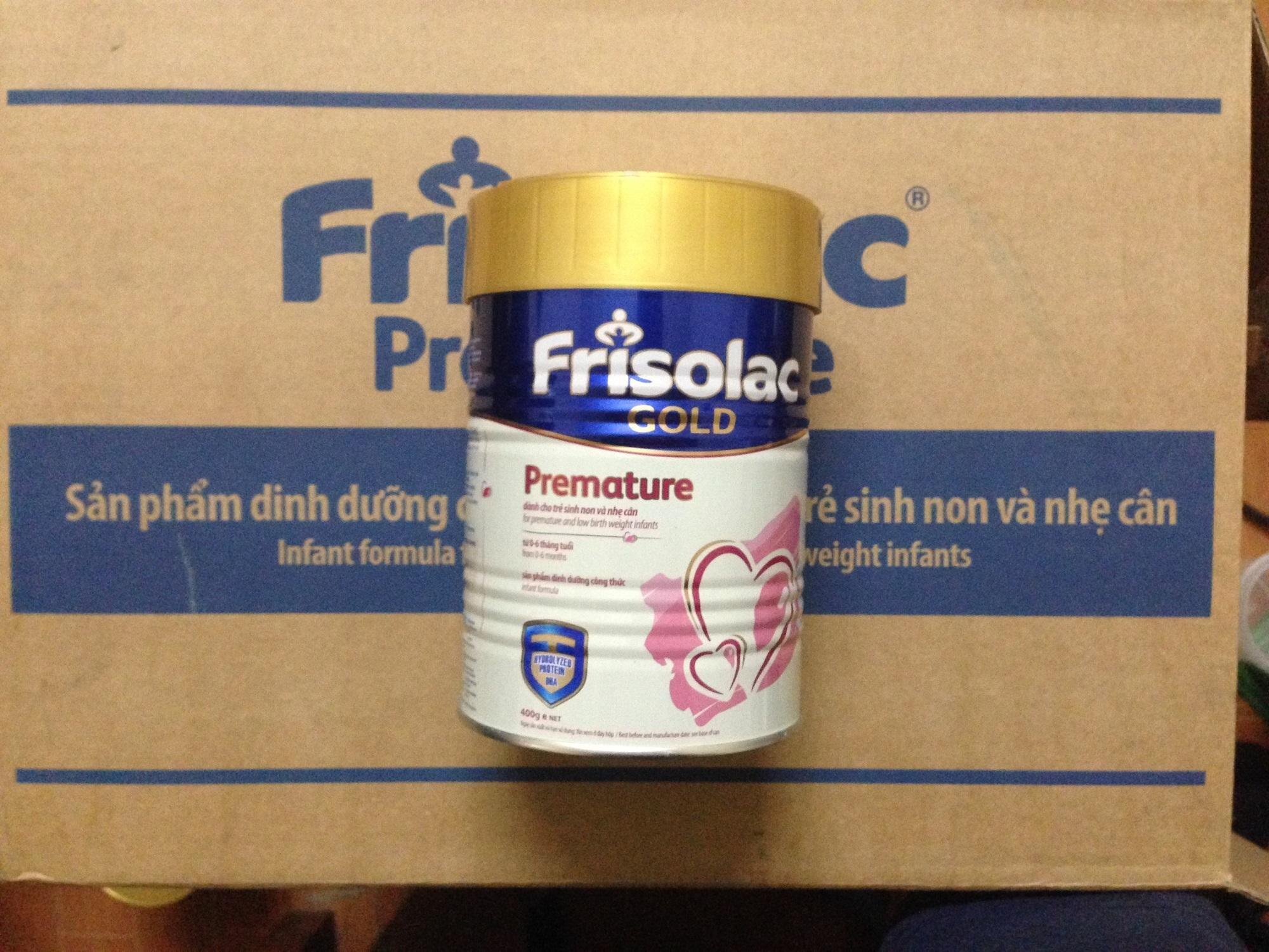 Sản phẩm sữa Friso hỗ trợ tuyệt vời giai đoạn trẻ sinh non, thiếu cân