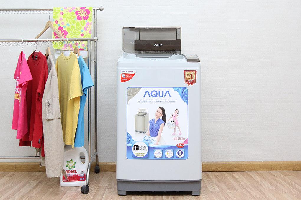 Máy giặt AQUA ASW-DQ90ZT sử dụng 9 chế độ giặt