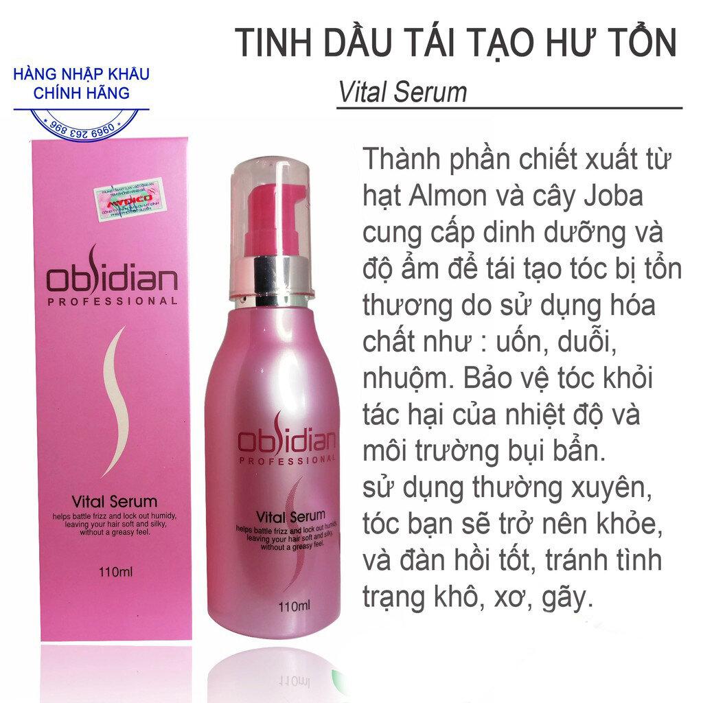 Tinh dầu dưỡng tóc Obsidian