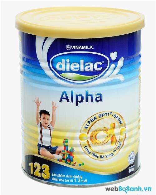 Sữa bột Dielac Alpha 123