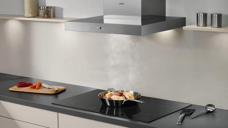 Bếp từ Bosch - nội thất phòng bếp đẹp