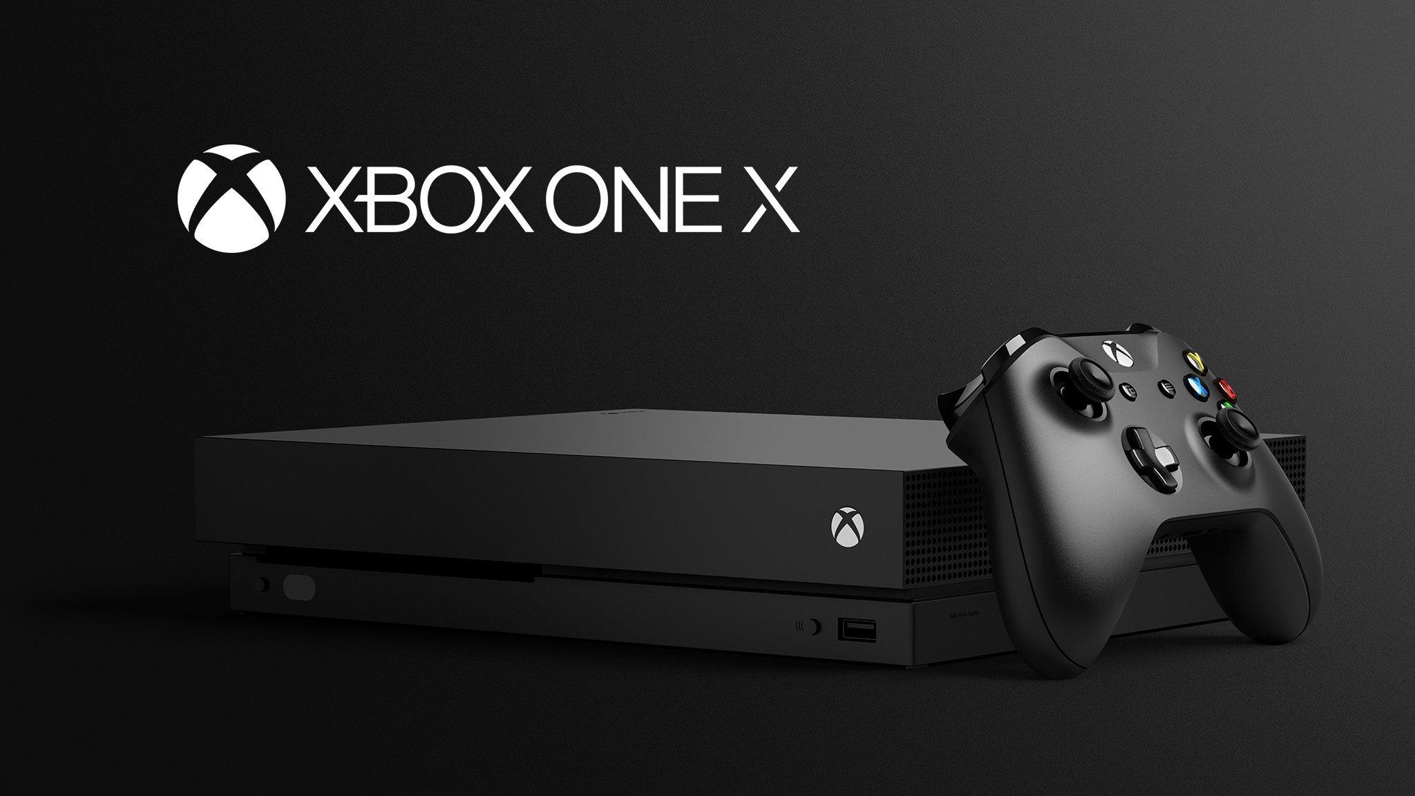 Máy chơi game Xbox one X