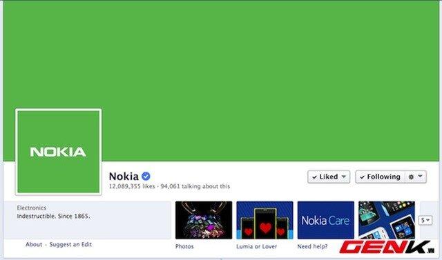 Nokia đổi tông màu Android trên Facebook, chuẩn bị ra mắt Nokia X