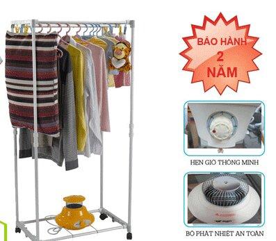 Quần áo phải vắt kỹ tránh nhỏ nước xuống máy sấy