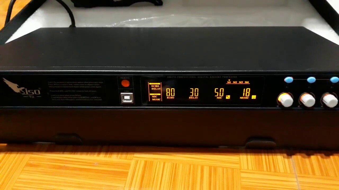 Vang số Siso T3 có trang bị cổng quang chuyên nghiệp (Nguồn: i.ytimg.com)