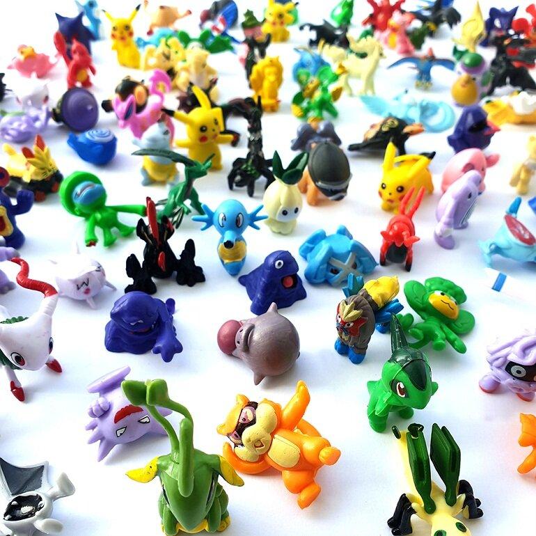 Đồ chơi pokemon được nhiều bé yêu thích