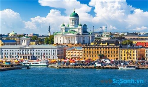 Toàn cảnh Helsinki