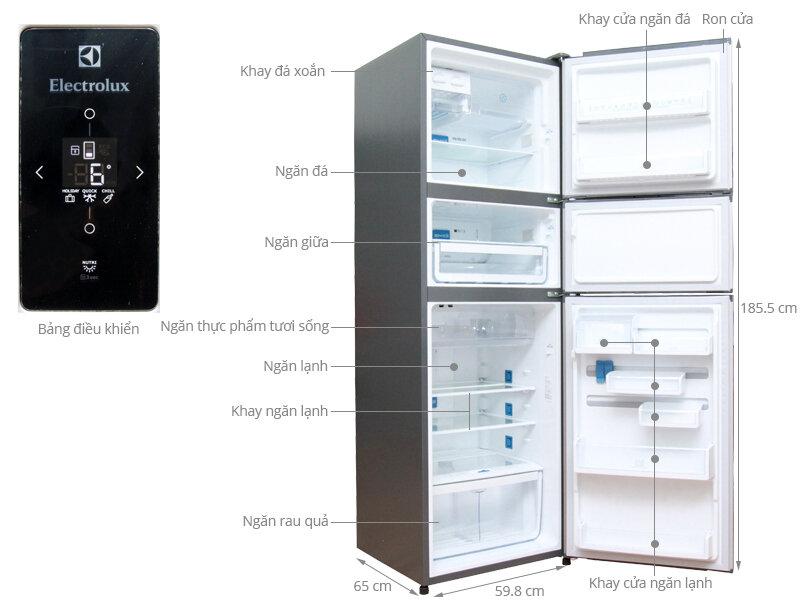 Tủ lạnh Electrolux EME 3500 nhỏ gọn tiết kiệm không gian