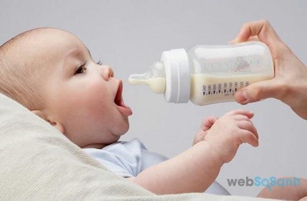 Bình sữa thủy tinh