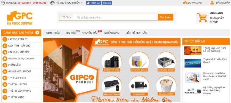 Giaphuoc.vn - Chuyên cung cấp thiết bị máy tính, thiết bị mạng, văn phòng, gaming chất lượng, giá tốt