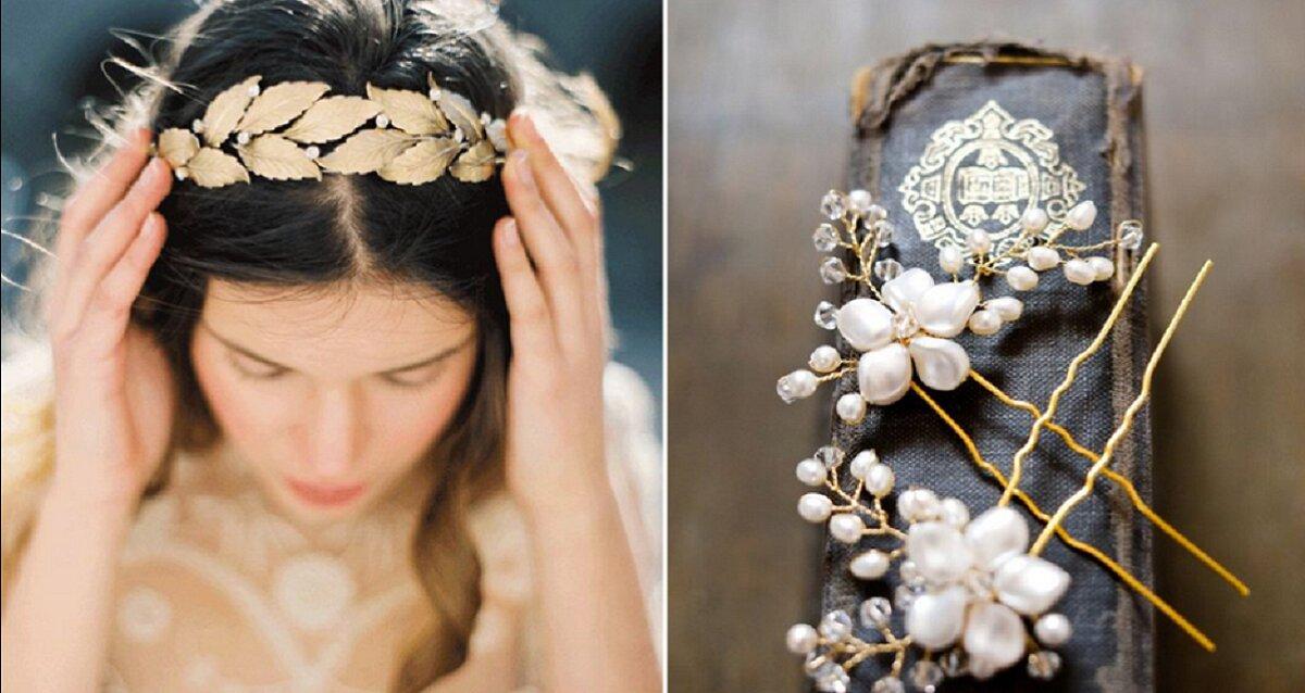 Có rất nhiều loại phụ kiện tóc cưới cho bạn lựa chọn
