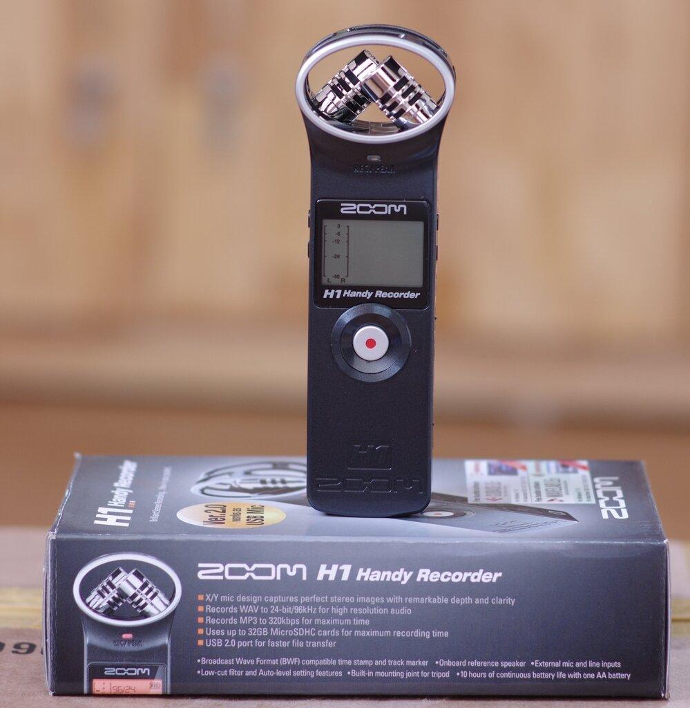 Máy ghi âm Zoom H1