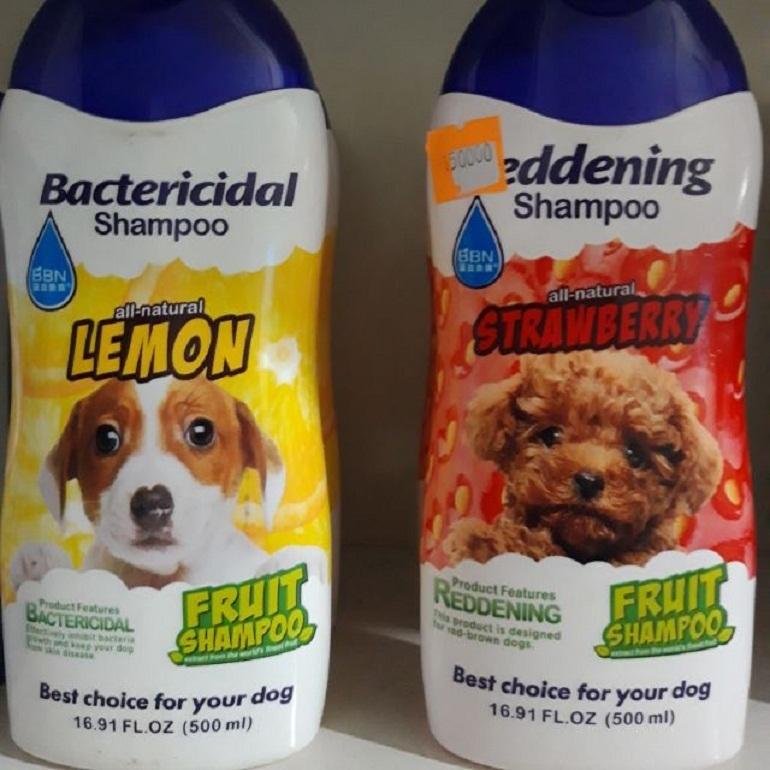 Sữa tắm cho chó BBN