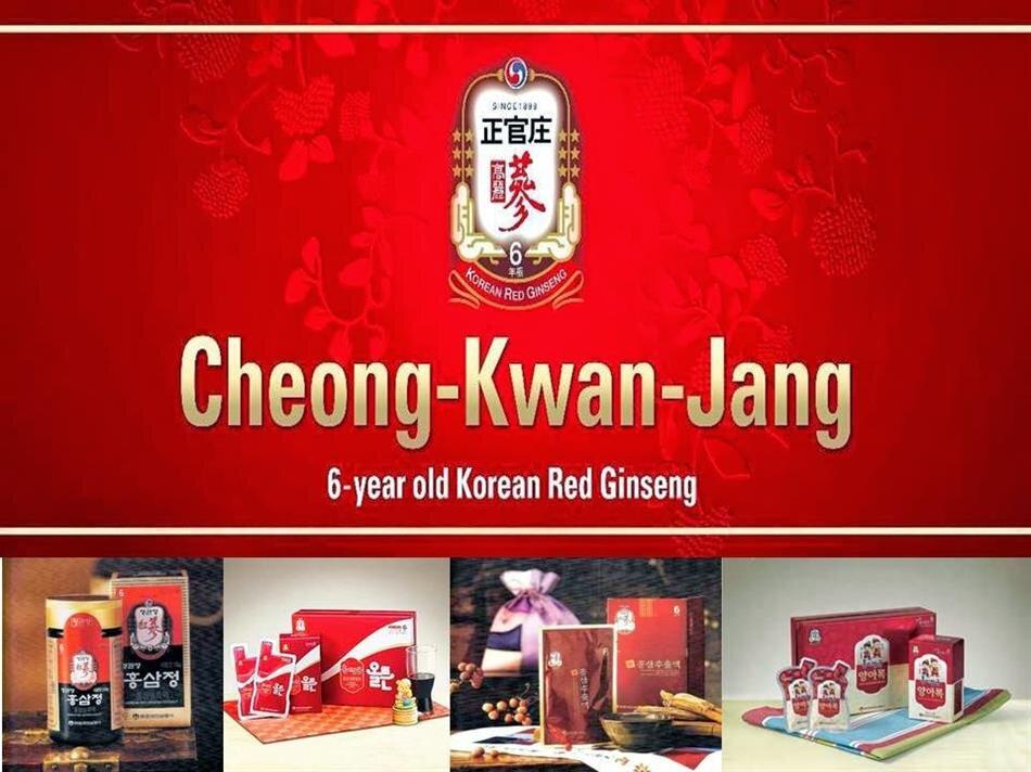 Hồng sâm chính phủ - Cheong Kwan Jang
