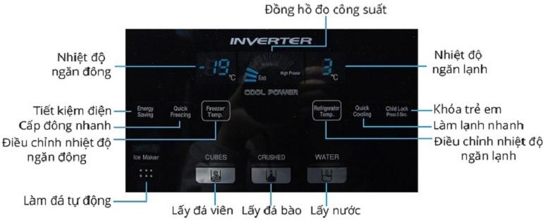 cách sử dụng tủ lạnh Hitachi