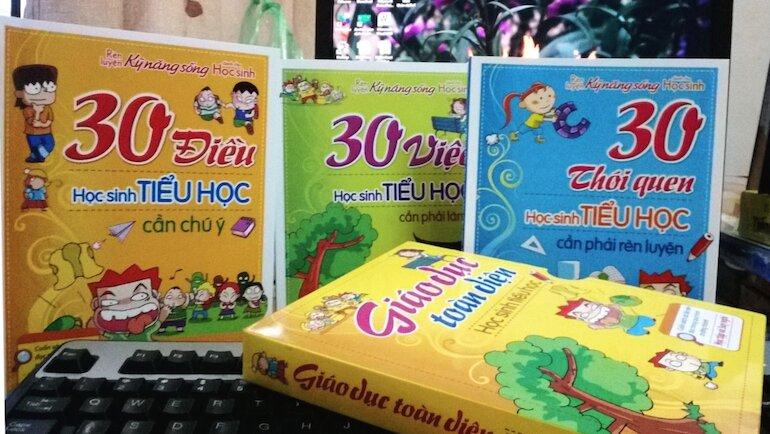 Lựa chọn sách kỹ năng sống hay theo lứa tuổi
