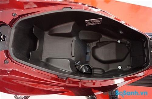 Cốp xe rộng 25 lít của PCX