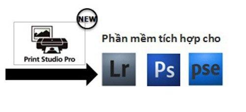 Canon hỗ trợ phần mềm chuyên nghiệp cho máy.