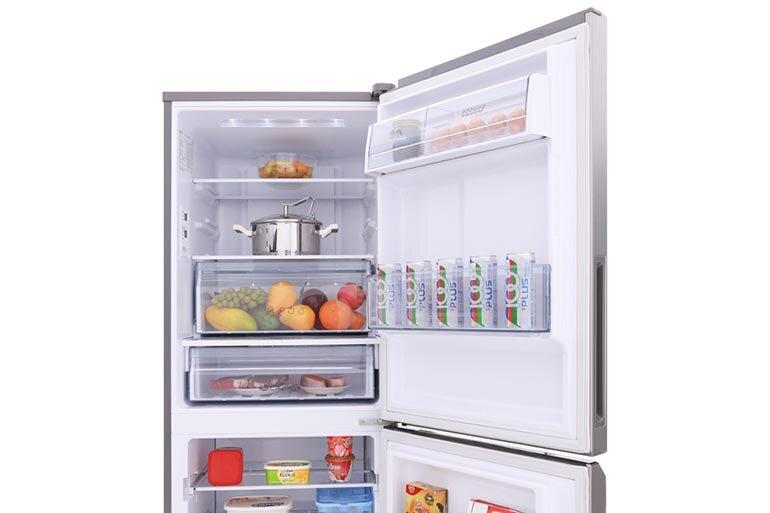 Tủ lạnh panasonic inverter 255 lít nr-bv289qsv2 bảo quản thực phẩm tươi ngon trong thời gian dài