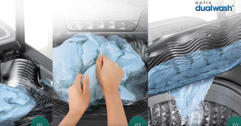 Samsung Activ Dualwash - Máy giặt có khay giặt tay - Phiên bản thiết kế riêng cho người Việt