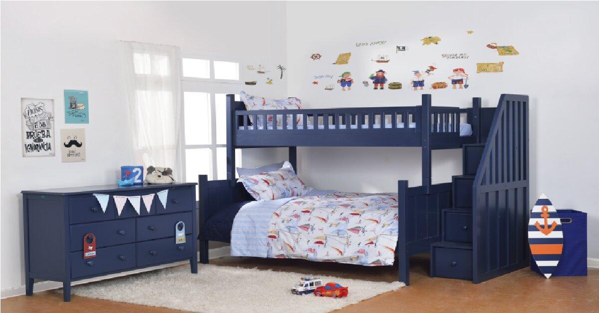 Có nên mua giường tầng trẻ em nhập khẩu cho bé không?