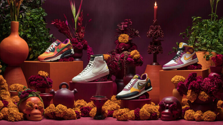 Giày Nike Day of the Dead Collection