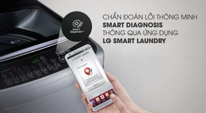 Máy giặt LG Inverter 9 Kg T2309VS2M - Giá rẻ nhất: 5.890.000 vnđ