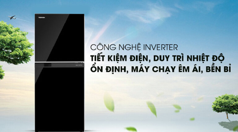 được trang bị công nghệ inverter siêu tiết kiệm điện