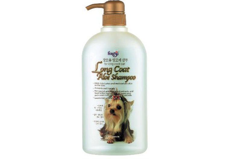 Sữa tắm cho chó lông dài Long Coat Aloe Shampoo hiệu Forbis