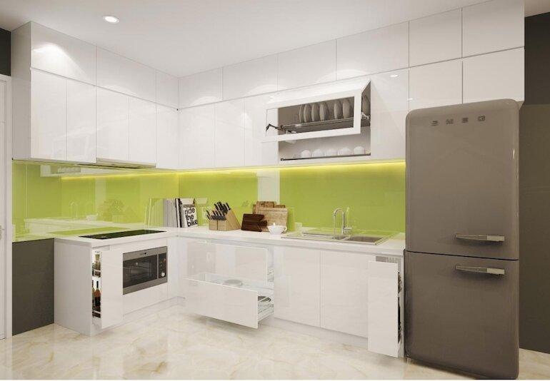 Lý do tủ bếp Acrylic nhận được sự ưa chuộng của các khách hàng