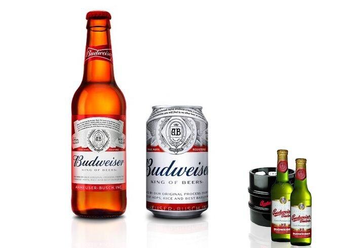 Bia Budweiser Mỹ