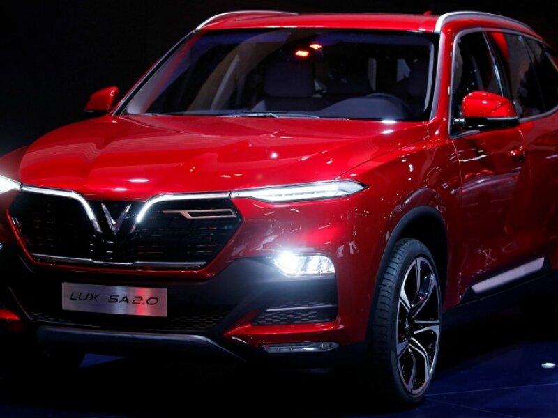 Hình ảnh ô tô VinFast mẫu Lux SA2.0