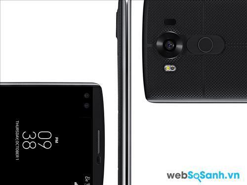 Smartphone V10 được LG trang bị bộ đôi camera ấn tượng với tính năng chụp ảnh cao và đa dạng