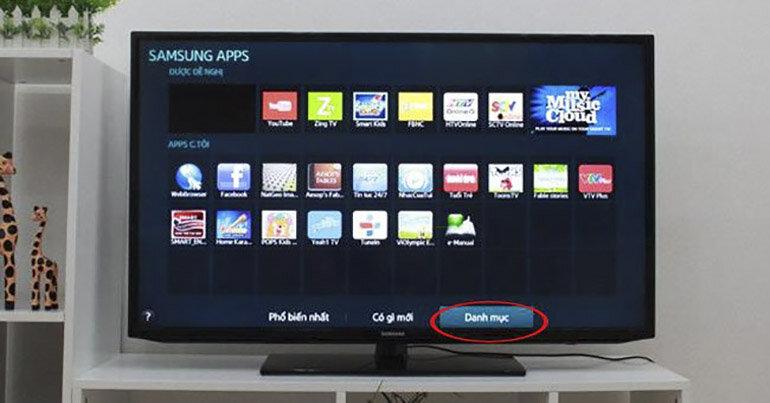 Hướng dẫn gỡ bỏ các ứng dụng không cần thiết có trên smart tivi Samsung