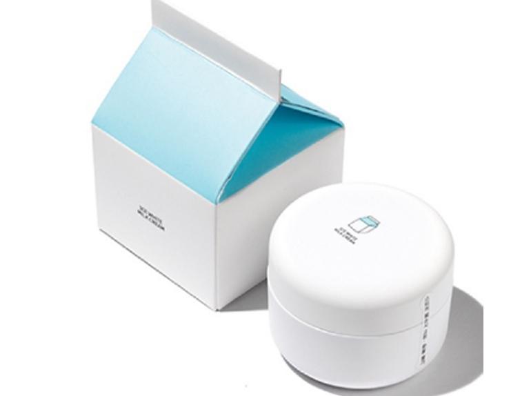 Review kem dưỡng trắng 3CE White Milk về thiết kế, bao bì, texture