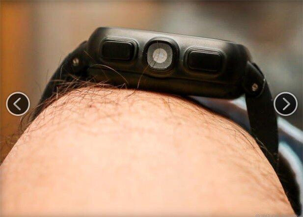Cận cảnh camera 5 MP của máy.