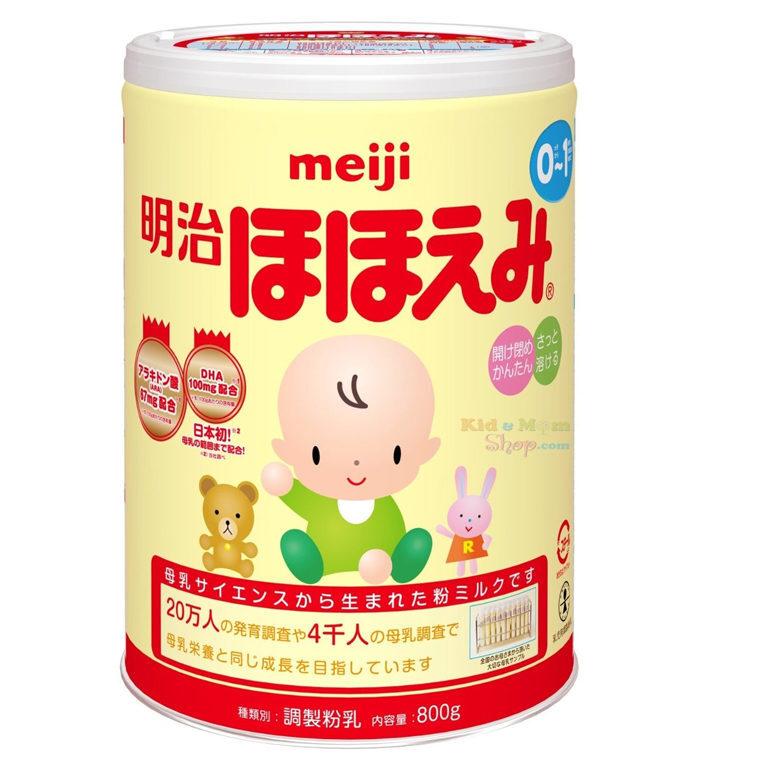 sữa công thức cho bé dưới 1 tuổi