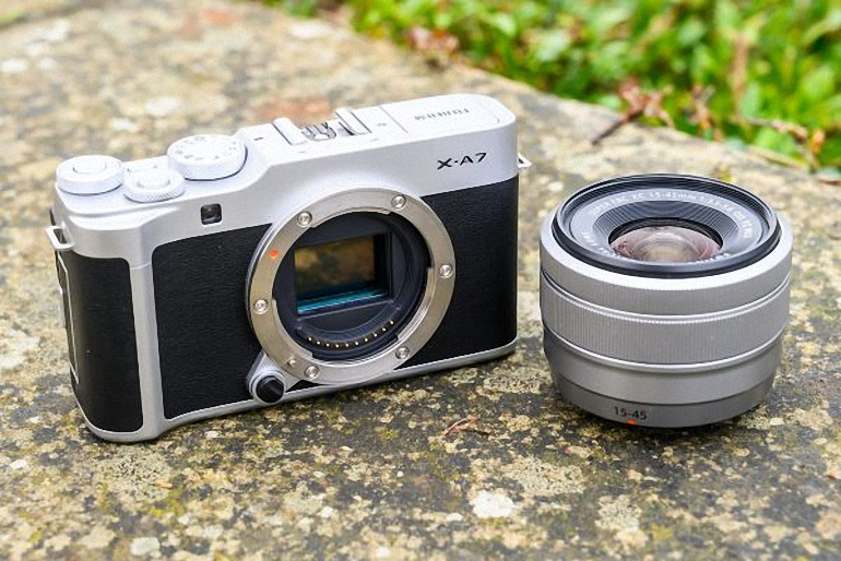 máy ảnh fujifilm x-a7