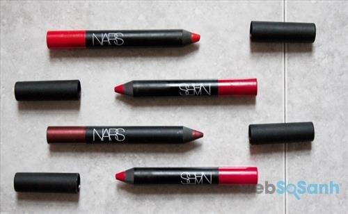 Những cây son bút chì của NARS lên màu cực đẹp, cực mướt