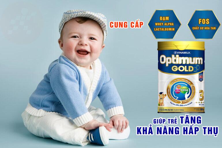Sữa Optimum Gold số 3 900g