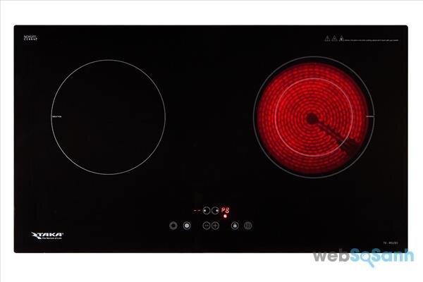 bếp từ hồng ngoại đôi Nhật Bản cao cấp Taka TK-IR02B1
