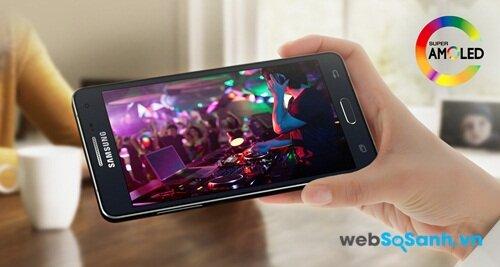 Màn hình điện thoại Galaxy A5