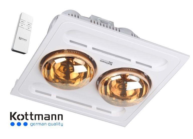 Đèn sưởi phòng tắm âm trần Kottmann K9R