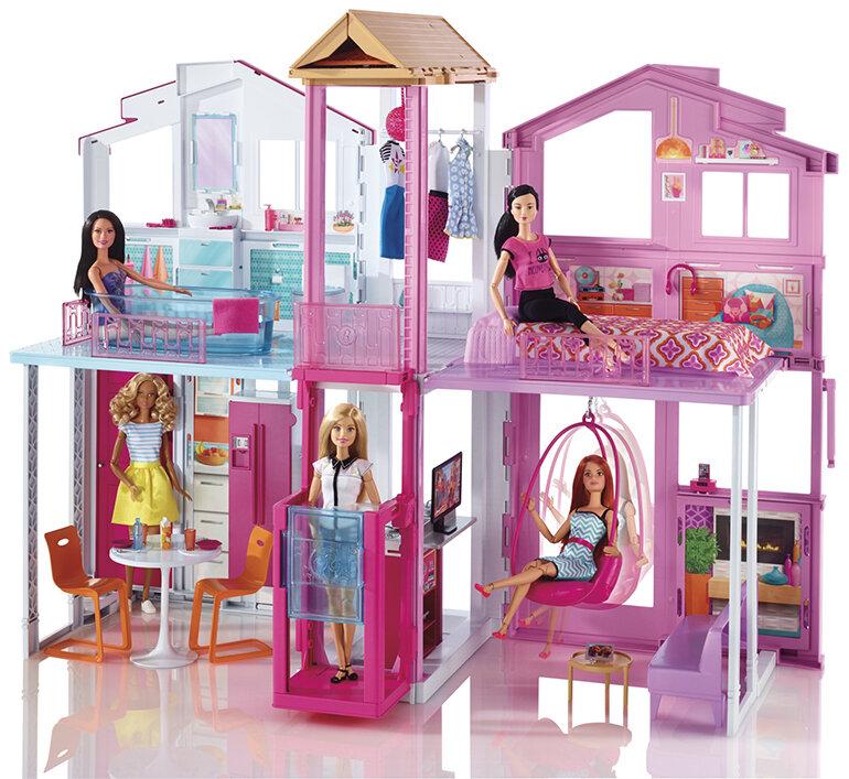 Đồ chơi ngôi nhà trong mơ Barbie - đồ chơi cao cấp chính hãng Mattel, Mỹ.